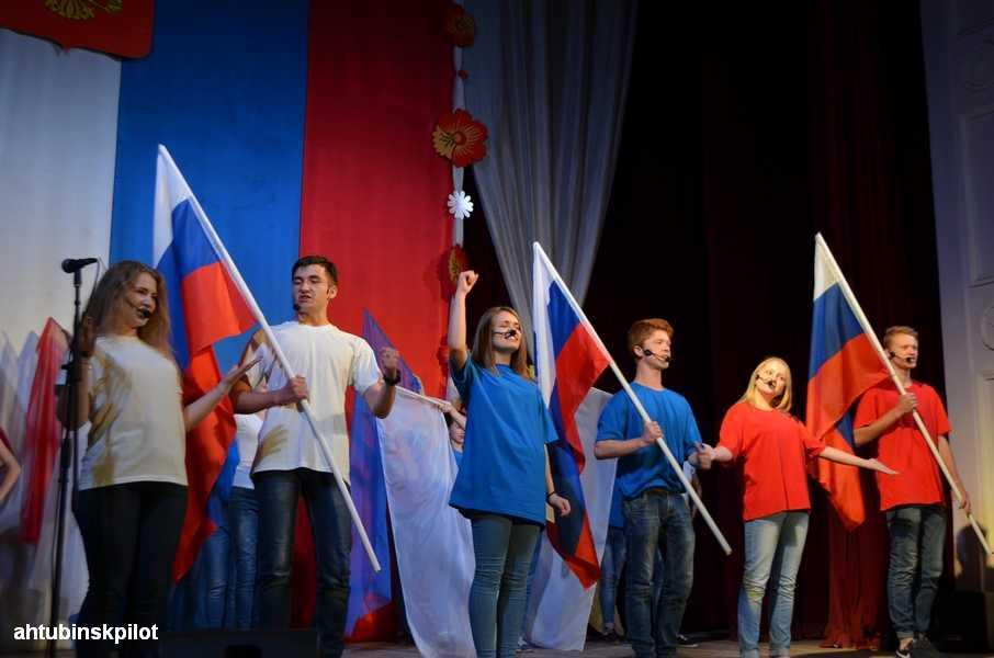 На гала- концерте к Дню России звучали песни о Родине
