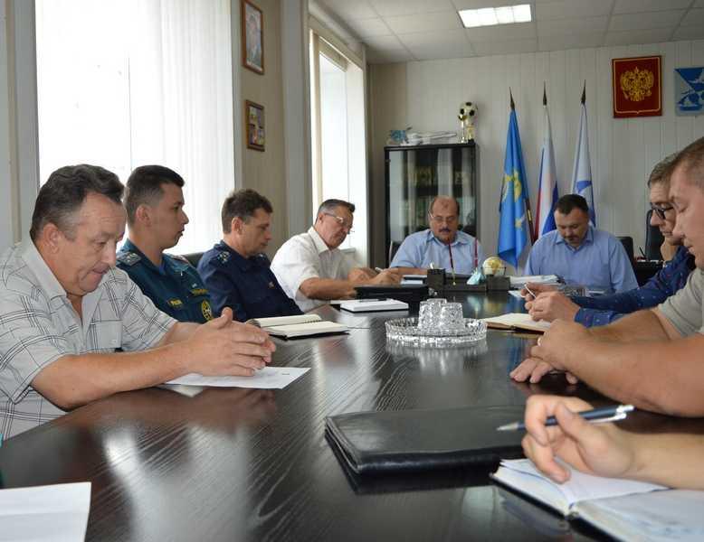 Готовность к выборам проверили члены районной антитеррористической комиссии