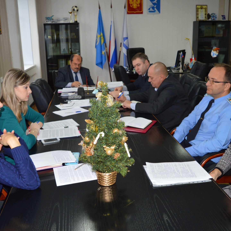 О противодействии идеологии терроризма обсудили на заседании районной антитеррористической комиссии