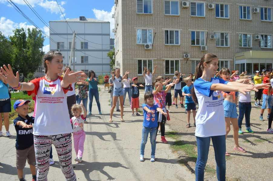 Ахтубинский район присоединился к марафону «Здоровая губерния», приуроченного к 300-летию региона
