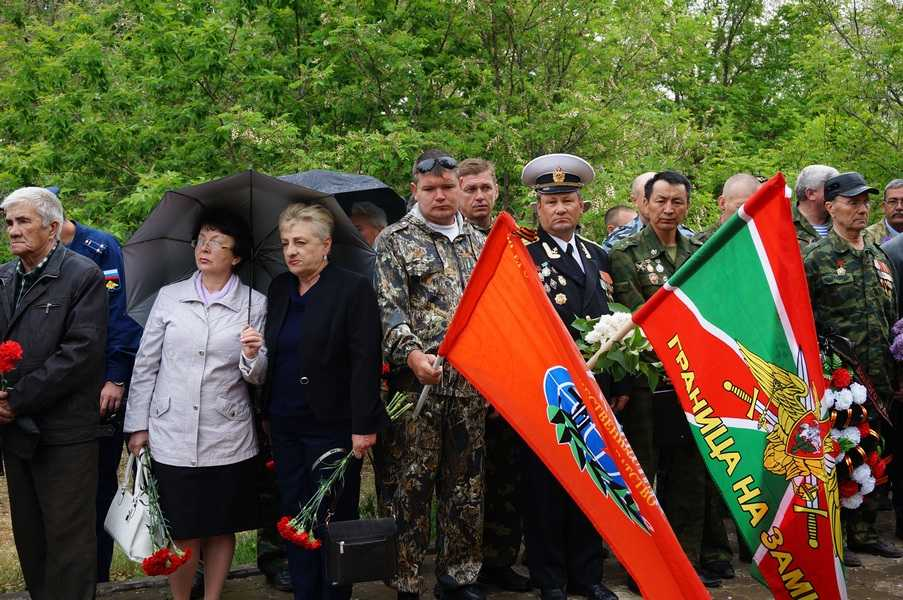 Память воинов — интернационалистов почтили на митинге