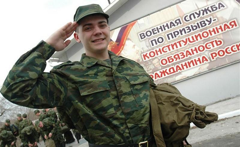Весенний призыв на службу в российскую армию исполнен на 72%