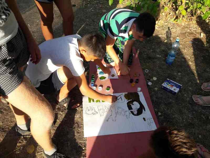 Ахтубинские волонтеры совершили трехдневный поход по программе «Экстрим»-2017 г.