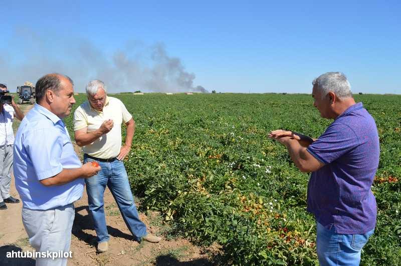 Глава Ахтубинского района убежден — власть должна помогать фермеру, когда ему трудно