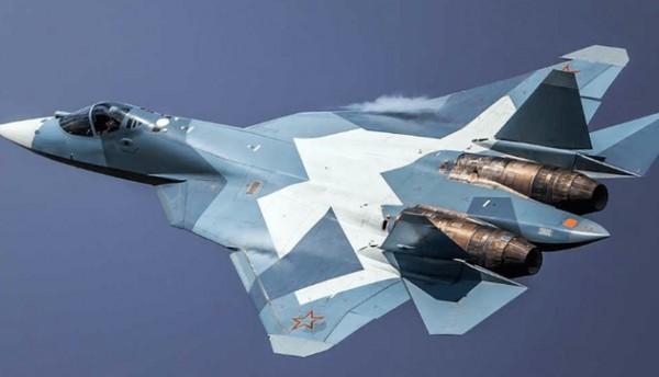 Состоялся первый полет Су-57 с двигателем второго этапа
