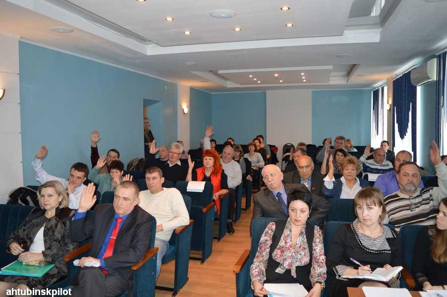 Депутаты приняли бюджет Ахтубинского района