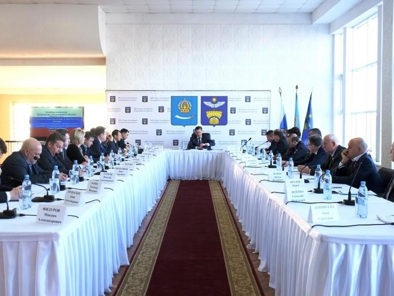Инфраструктурное обустройство Ахтубинского района