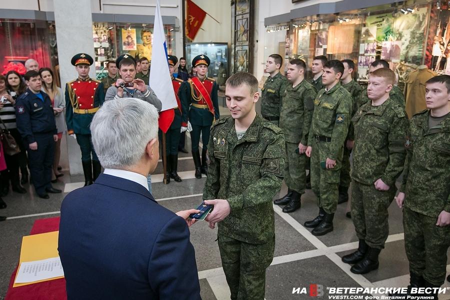 Студенты филиала «Взлет» МАИ в г. Ахтубинске стали офицерами