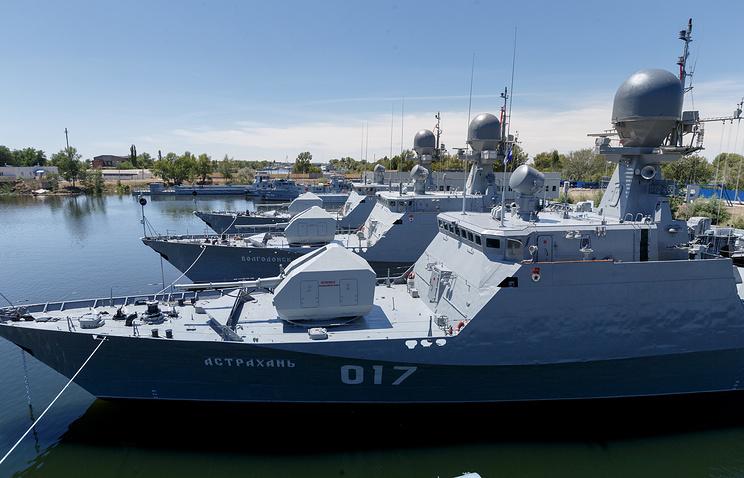 Каспийскую флотилию переведут из Астрахани в Дагестан