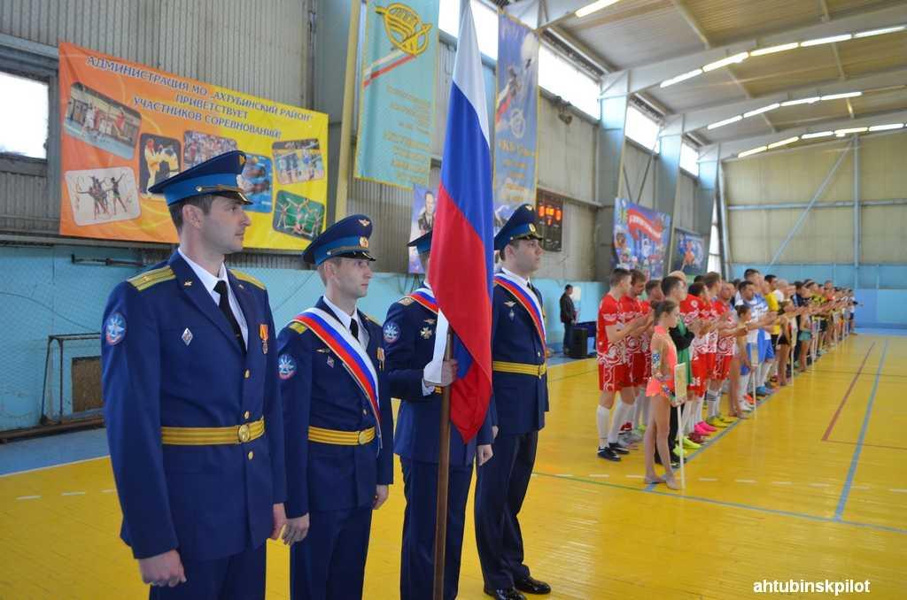 В Ахтубинске проходит представительный турнир по мини-футболу