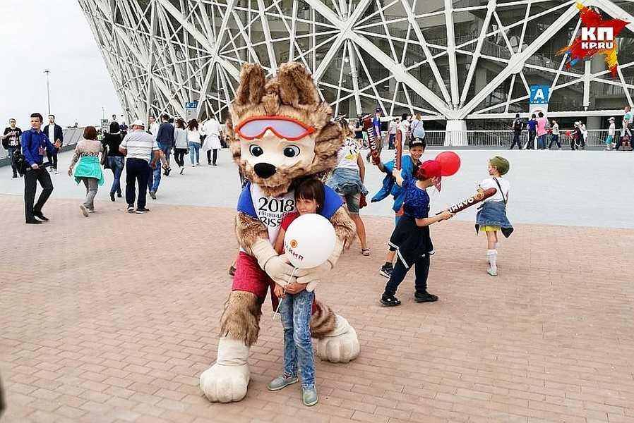 Большая группа ахтубинских футбольных болельщиков собралась посетить матчи чемпионата мира по футболу
