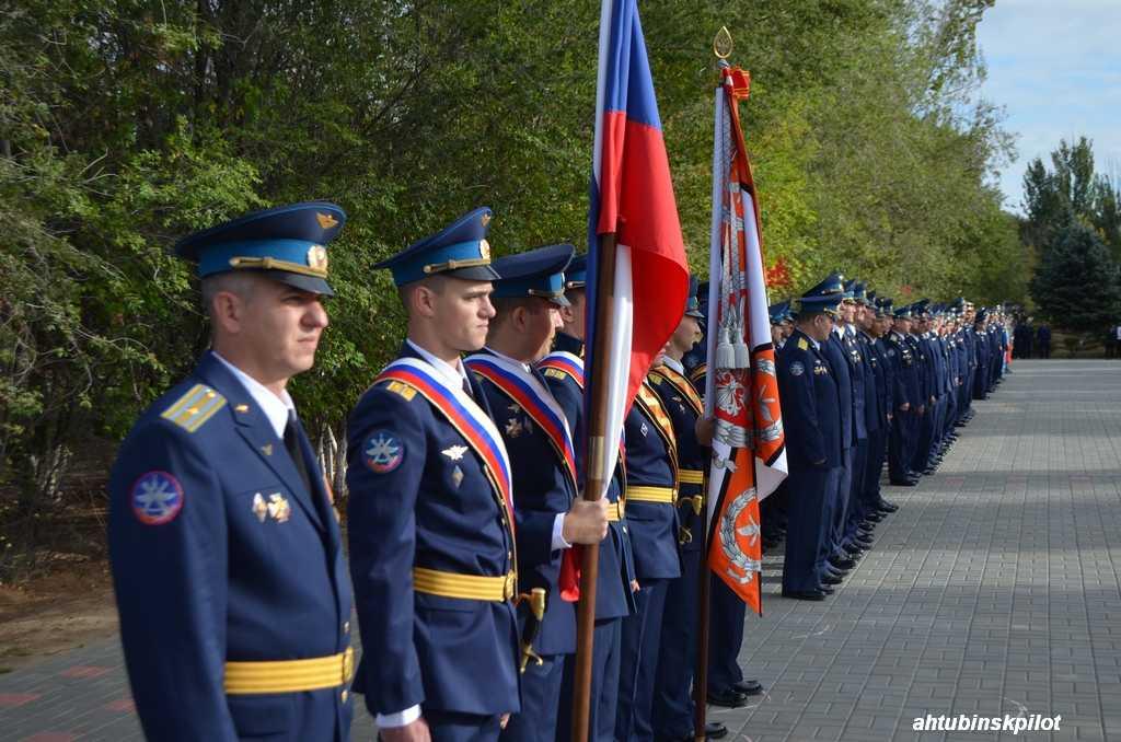 В Ахтубинске открыли «Аллею героев»