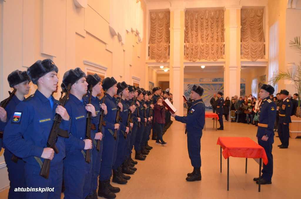 Военнослужащие ГЛИЦ им. В.П.Чкалова приняли воинскую присягу