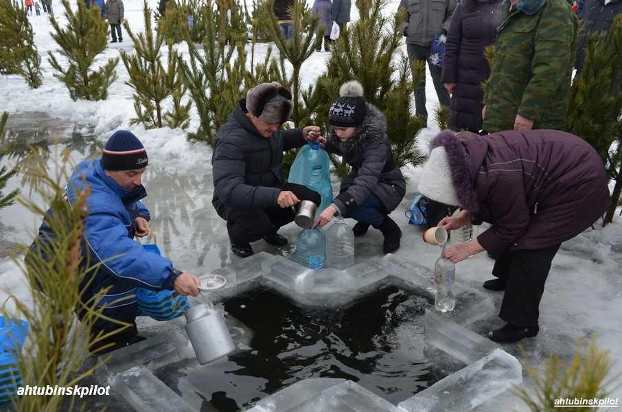В Ахтубинске началась подготовка к крещенским купаниям