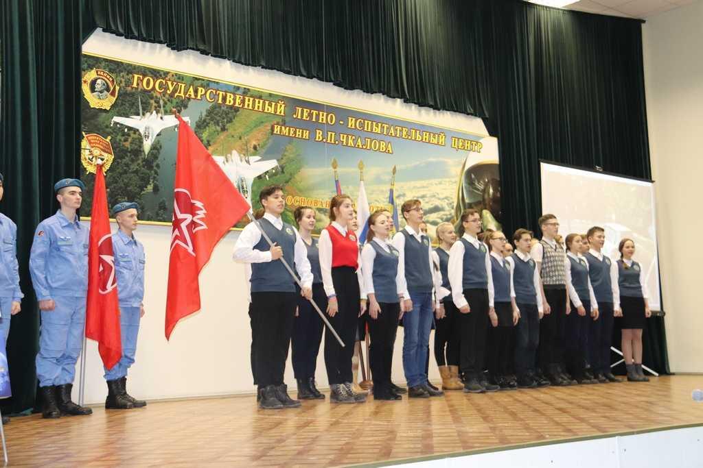 В преддверии Дня защитника Отечества в ряды движения «Юнармия» вступили 28 ахтубинских школьников.