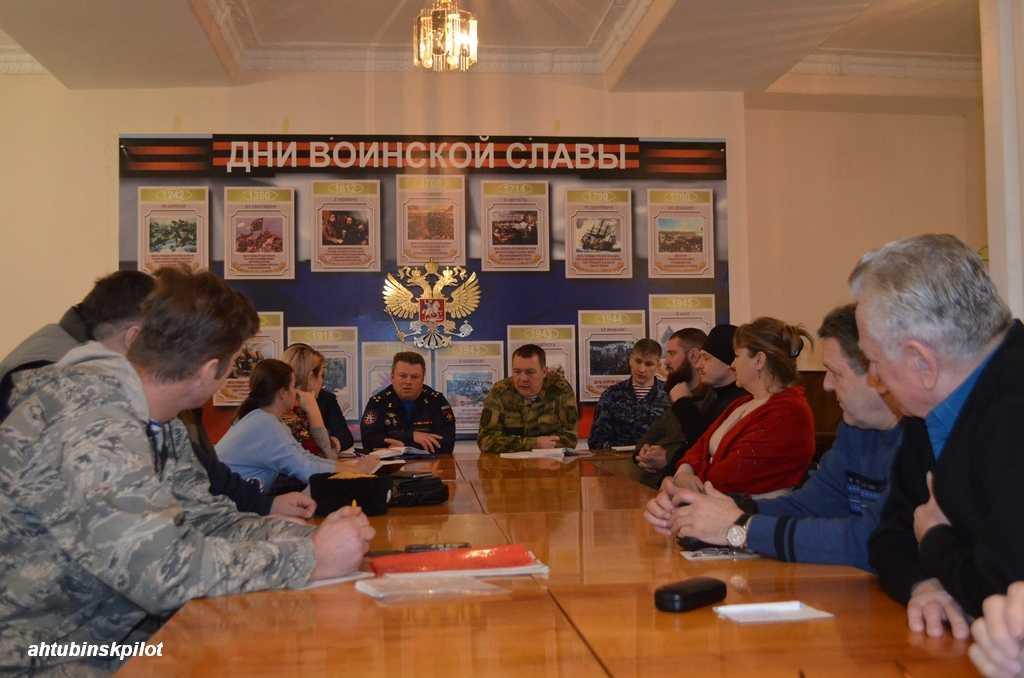 Военно-патриотическому движению «Юнармия» в Ахтубинском районе требуется новый импульс