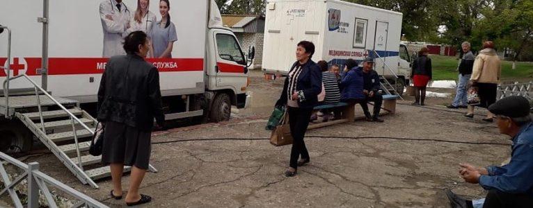 «Поезд здоровья» направляется в Ахтубинский район