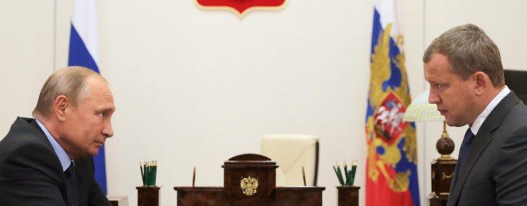 Названа причина отставки врио губернатора Астраханской области Сергея Морозова