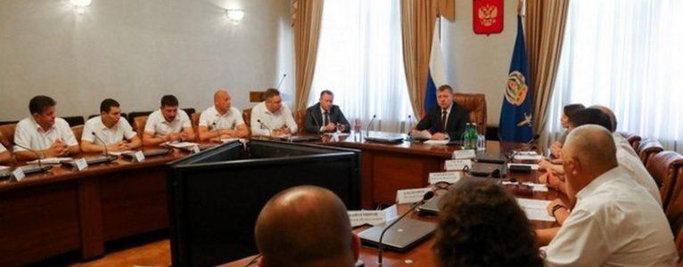 Игорь Бабушкин встретился с главами муниципальных образований Астраханской области