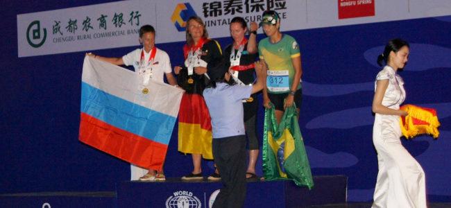 Сотрудник полиции из Ахтубинска завоевала медаль на XVIII Всемирных играх полицейских и пожарных в Китае