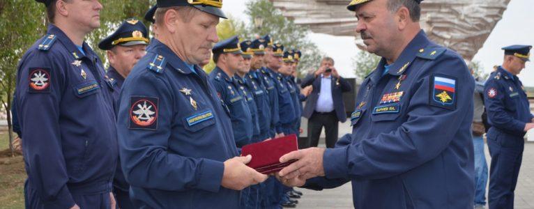 Ратный труд военнослужащих ГЛИЦ им. В.П.Чкалова отмечен боевыми нарградами
