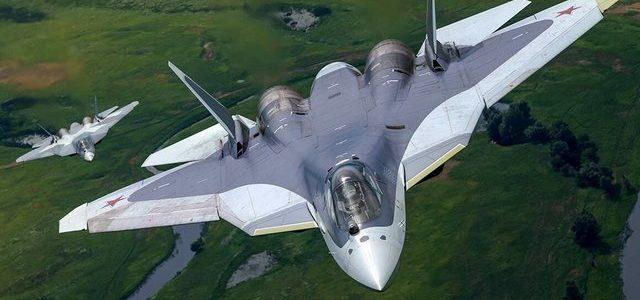 В Сирии повторно испытали российские Су-57