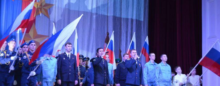 В Ахтубинском Доме офицеров вручили боевые награды офицерам и юбилейные медали ветеранам