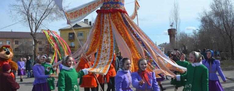 В прошедшее воскресенье в гости к ахтубинцам пожаловала Весна