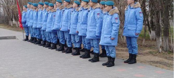 Ахтубинские кадеты пополнили ряды Юнармии