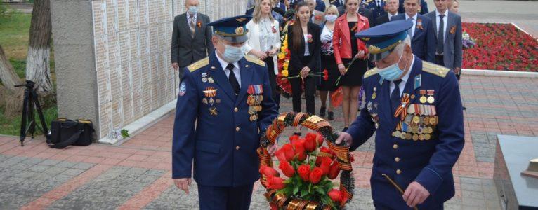 Вопреки обстоятельствам. В Ахтубинске прошли памятные мероприятия, посвященные 75-летию Великой Победы
