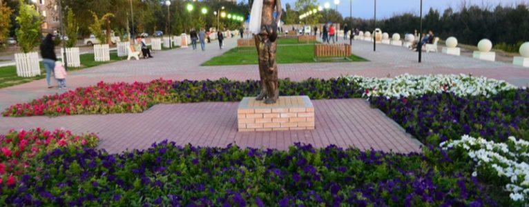 Новый сквер в Ахтубинске назван в честь 100-летия ГЛИЦ
