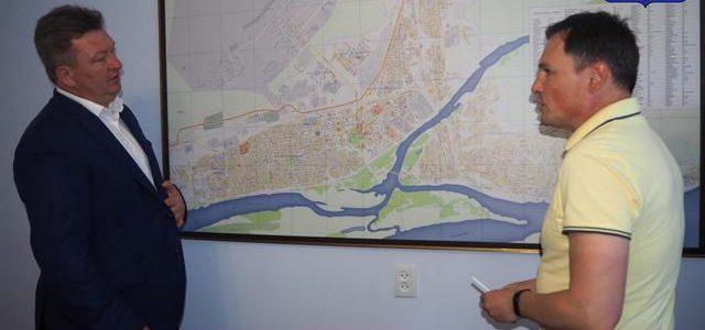 Ахтубинск посетил советник губернатора Астраханской области Дмитрий Волков