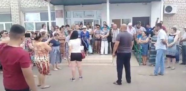 В посёлке Нижний Баскунчак Астраханской области введён режим ЧС