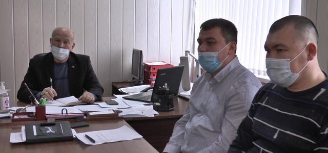 Оперативный штаб обсудил эпидемобстановку в районе