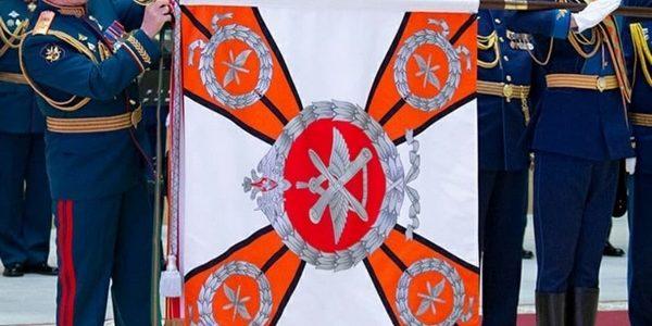 Министр обороны РФ генерал армии Сергей Шойгу вручил орден Суворова 929-му Государственному летно-испытательному центру (ГЛИЦ)
