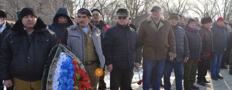 В Ахтубинске почтили память погибших в локальных войнах и конфликтах