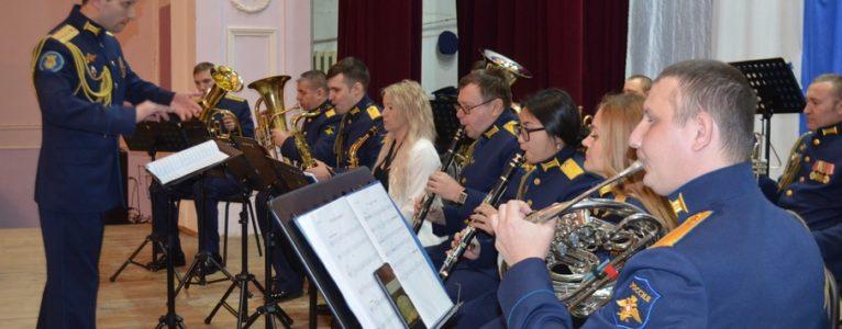 Комиссия по достоинству оценила творческий почерк военно-духового оркестра ГЛИЦ им. В.П.Чкалова