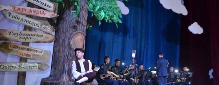 В Ахтубинске с большим успехом прошла премьера музыкального спектакля