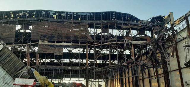 Под завалами обрушившегося ангара в военном гарнизоне Ахтубинска найден еще один погибший