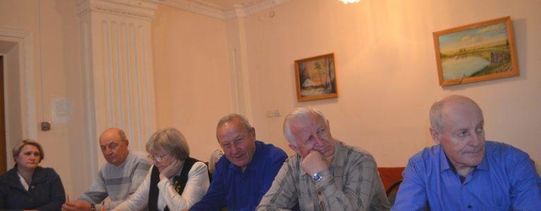 Сергей Заблоцкий встретился с членами совета ветеранов ахтубинского гарнизона в новом качестве