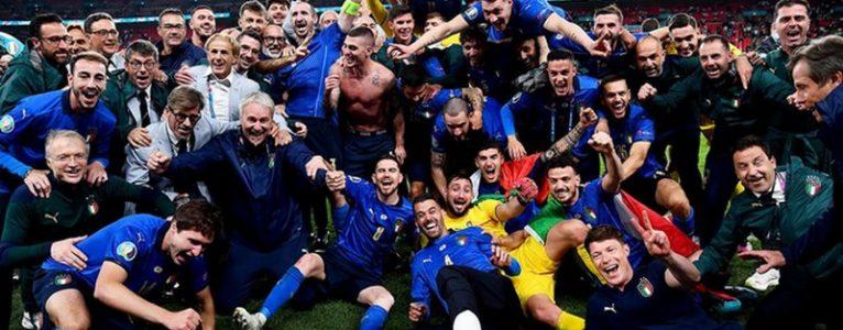 Италия торжествует, Англия скорбит, болельщики ликуют!