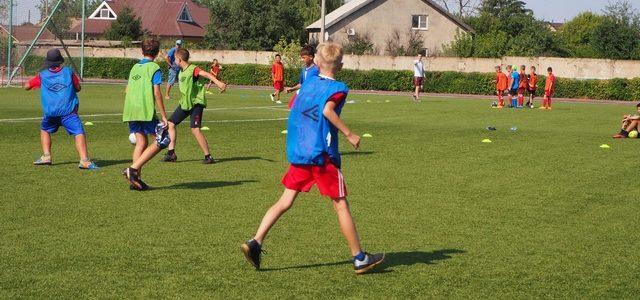 Юные футболисты приняли участие во Всероссийском фестивале детского дворового футбола