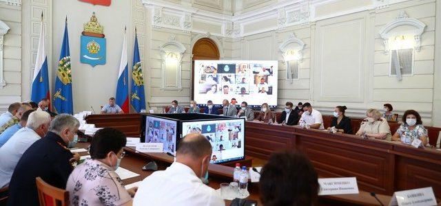 В Астраханской области вновь вводят жёсткие ограничительные меры