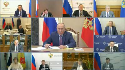 Путин узнал о критической ситуации по COVID-19 в Астраханской области