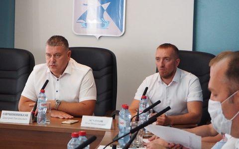 С рабочей поездкой Ахтубинск посетил зампред правительства региона Дмитрий Овчинников